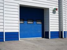 Garage for car. The garage for a car Royalty Free Stock Photography