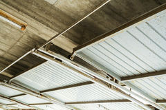 Garage ceiling Stock Images