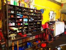 Garage coloré Toronto Photos stock