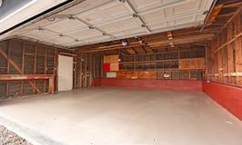 Garage dans la maison de San Diego Photos libres de droits