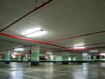 Garage de estacionamiento Imagenes de archivo