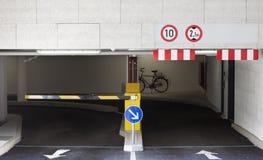 Garage de estacionamiento Fotos de archivo libres de regalías