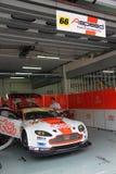 Garage de las personas de Aston de la Uno-Velocidad, SuperGT 2010 Foto de archivo libre de regalías