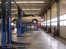 Garage de los mecánicos Fotografía de archivo