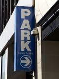 Garage de stationnement, New York City Photographie stock libre de droits