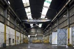 Garage del carro pesado Foto de archivo libre de regalías