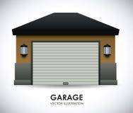 Garage design Stock Images