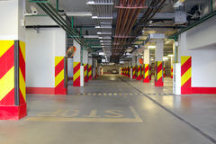 Garage di parcheggio 1 Fotografie Stock Libere da Diritti