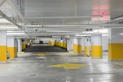 Garage di parcheggio Fotografie Stock Libere da Diritti