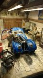Bugatti 57 SC Atlantic scale model diorama Stock Images