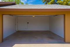 Garage domestico Fotografia Stock