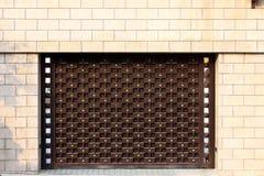 Garage door. This is a Garage door Stock Photos