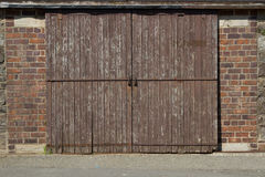 Garage door. Royalty Free Stock Photos