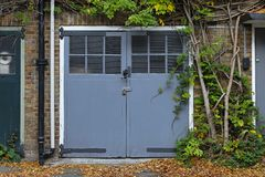 Garage door Royalty Free Stock Photography