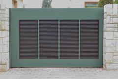 Garage door, Athens Greece Stock Photo