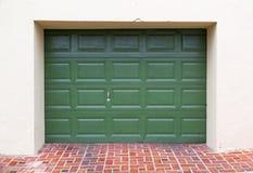 Garage door Stock Image