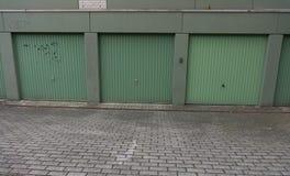 Garage door  drive in  door  gate cardriving Stock Images