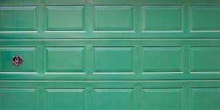 Garage door with lock. Stock Image