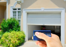 Garage Door Opener Royalty Free Stock Photo