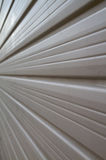 Garage Door Perspective Stock Image