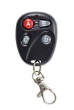 Garage door remote control isolated on a white background Stock Photo