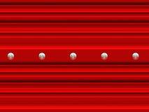 Garage door with screws Stock Photo