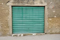 Garage doors Stock Photo