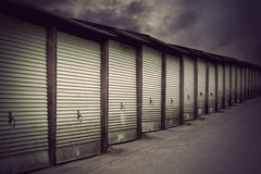 Garage doors Royalty Free Stock Photos