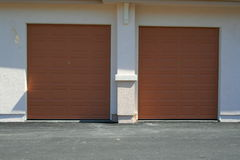 Garage Doors Stock Photos