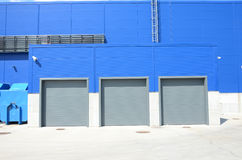 Garage doors Stock Photography