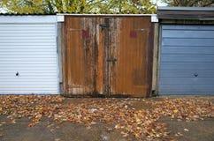 Garage Doors Royalty Free Stock Image