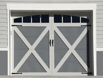 Garage Doors Royalty Free Stock Photo