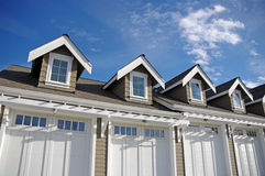 Garage With Dormers Stock Photography