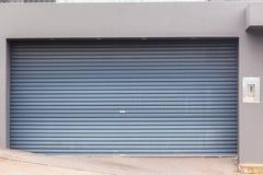 Garage Double Door Royalty Free Stock Images