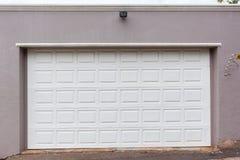 Garage Double Door Stock Photo