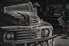 Garage et atelier Route 66 de Hackberry images libres de droits