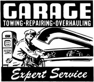 Garage Expert Service Royalty Free Stock Photos