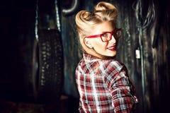 Garage fashion Stock Photo