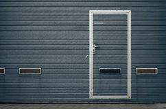 Garage gate as background stock photo