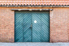 Garage gate Royalty Free Stock Photo