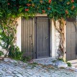 Garage gate Royalty Free Stock Image