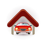 Garage icon Stock Photos