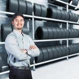 Garage man Stock Photos