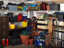 Garage-Material Stockbilder