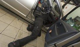 Garage Mechanics Stock Images