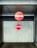 Garage moderno Fotografia Stock Libera da Diritti