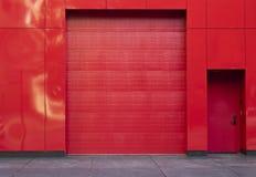 Garage moderno del estilo Imagenes de archivo