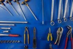 Garage och och bildelar Royaltyfri Bild