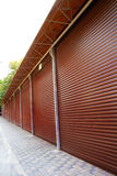 garage for a parking Stock Images
