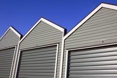 Garage-Reihe Lizenzfreie Stockbilder